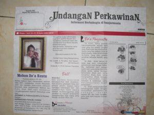 undangan-koran-unik