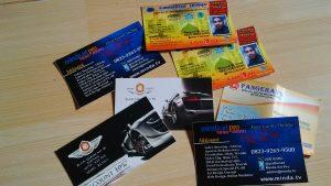 cetak kartu nama padang